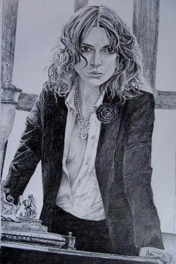 Keira Knightley by chamalow